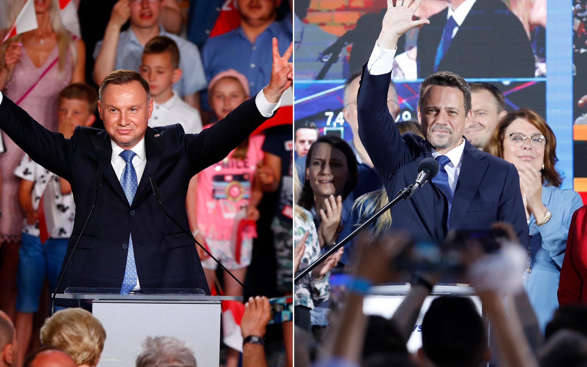 #czasdebaty. Debata prezydencka. Przesyłajcie pytania do Dudy i Trzaskowskiego | Gorące Tematy w Kontakt 24
