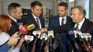 Trzaskowski wspólnym kandydatem Platformy i Nowoczesnej w Warszawie