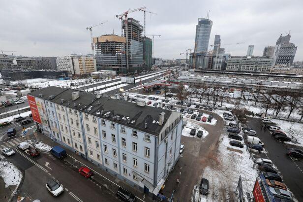 Budynki w centrum PAP/Paweł Supernak
