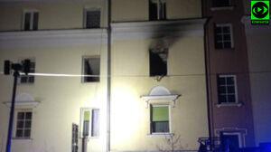 Trzy mieszkania nie nadają się do użytku. Dzielnica zapowiada pomoc po pożarze
