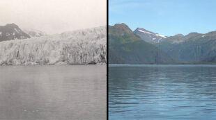 Jak w ciągu ponad 100 lat zestarzały się lodowce