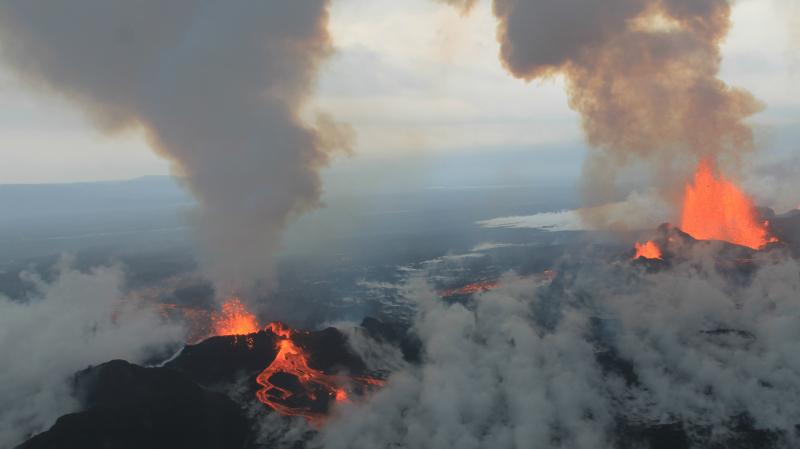 Erupcja wulkanu Bardarbunga z 2014 roku była groźna (flickr.com/peterhartree (CC BY-SA 2.0))
