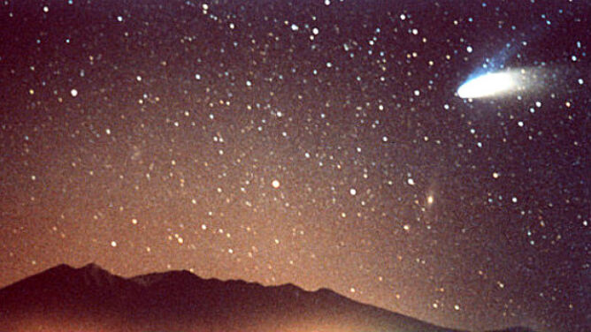 Kometa jasna jak Księżyc rozbłyśnie nad nami