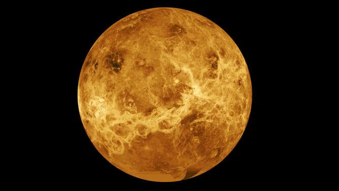 Na Wenus wypływa lawa