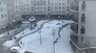 Zima wróciła wiosną (TVN24)